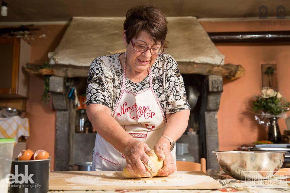 winter pasta making