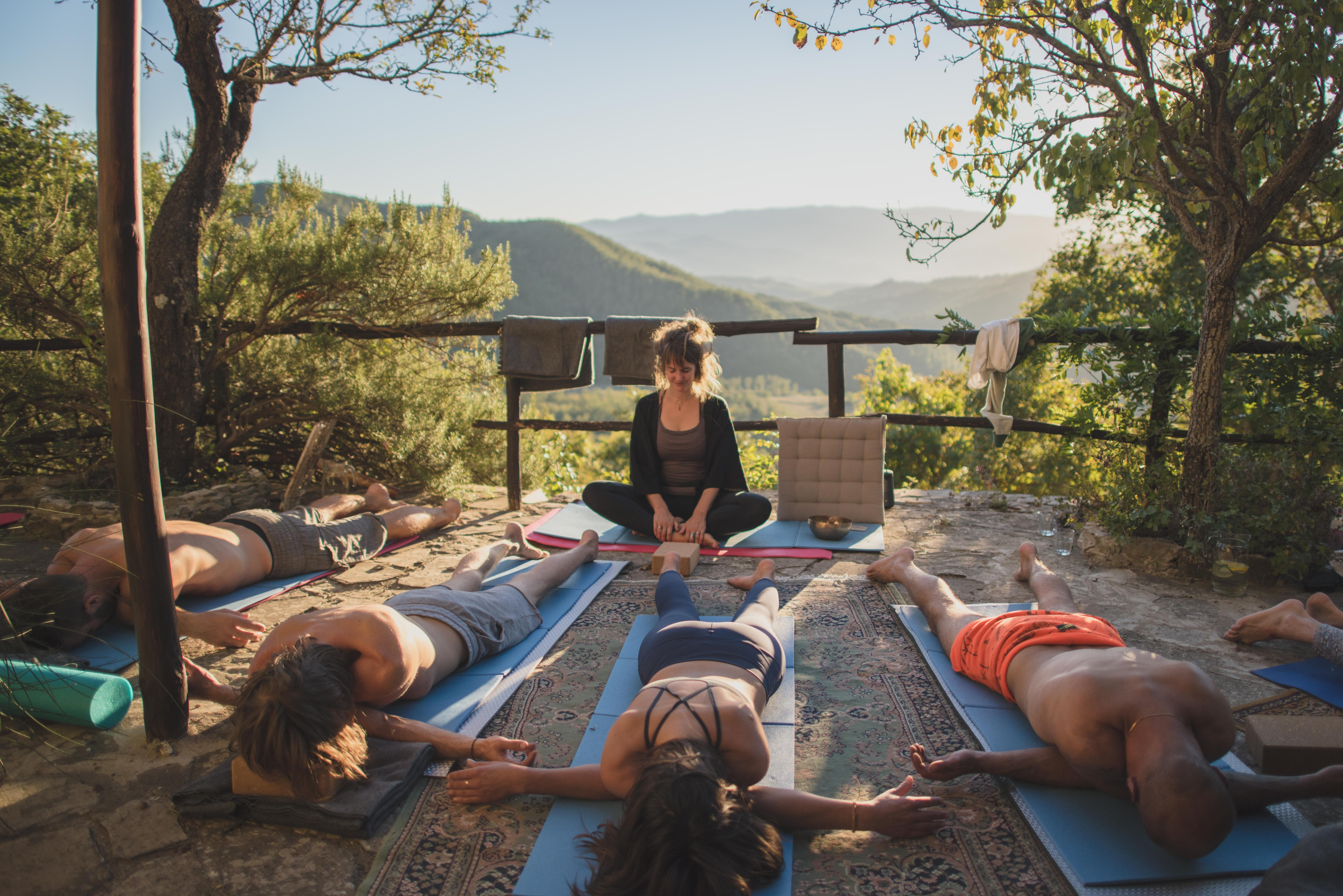 Yoga Retreat Session