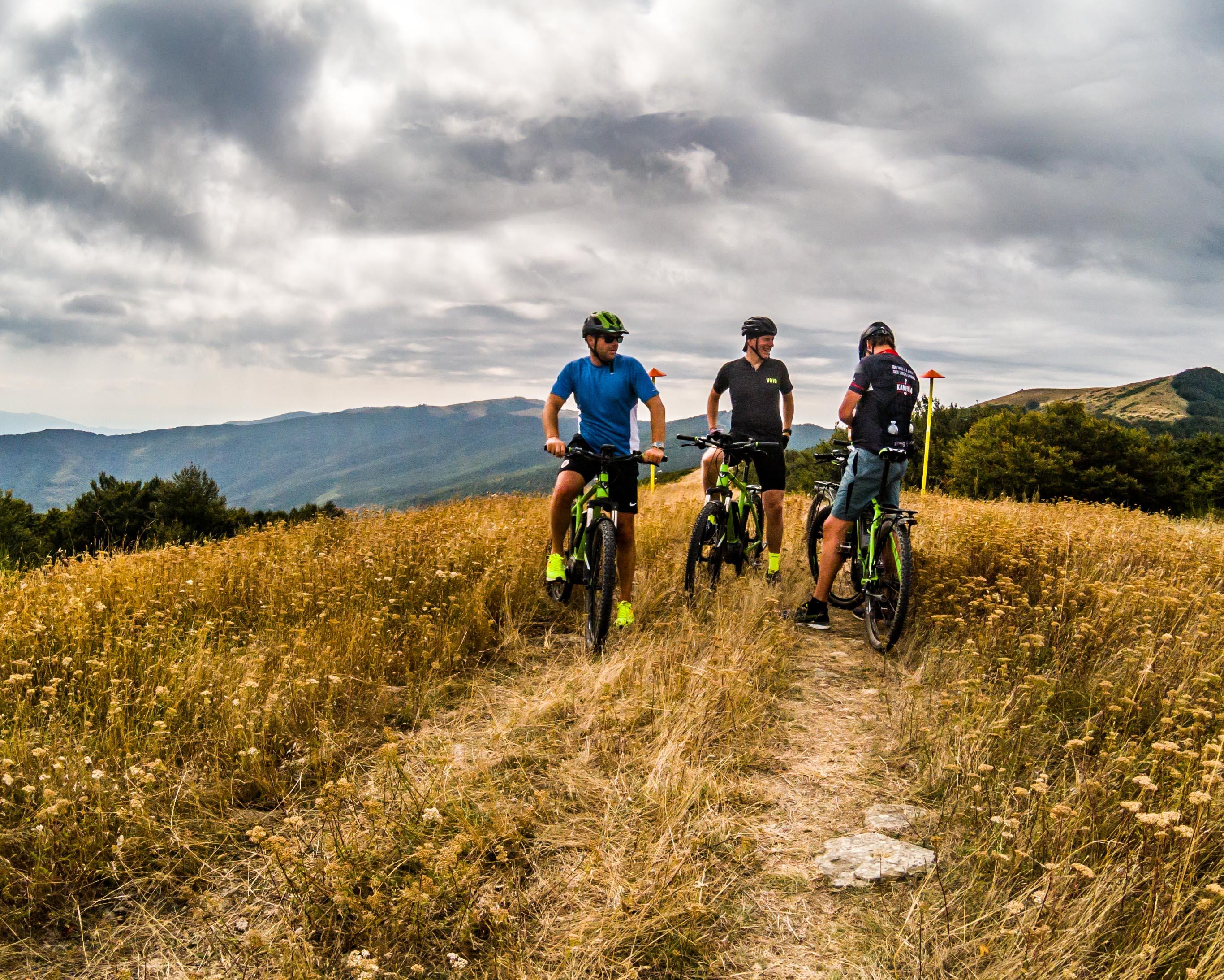 E-mountainbiking Tuscany